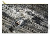 Abstract Shapes On An Old Weathered Wooden Board Carry-all Pouch