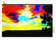 Abstract Sky Carry-all Pouch