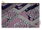 Abstract Slates Carry-all Pouch