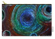 Abstract Space Art. Sparkling Antimatter Carry-all Pouch