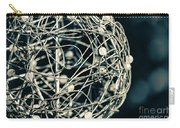 Abstract Sphere Carry-all Pouch by Todd Blanchard