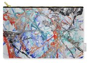 Abstract String Carry-all Pouch
