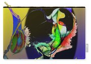 Abstract Tarot Card The Lovers Carry-all Pouch