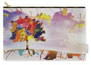 Abstract Tree 33w Carry-all Pouch