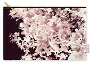 Abstract Tree Landscape Dark Botanical Art Rose Tinted Carry-all Pouch