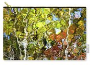 Abstract Tree Reflection Carry-all Pouch