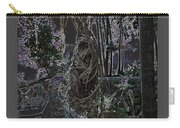 Abstract Twisted Tree Carry-all Pouch