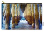 Abstract Under Pier Beach Carry-all Pouch