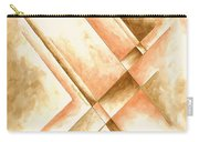 Abstract Unique Original Painting Contemporary Art Champagne Dreams I By Madart Carry-all Pouch