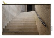 Abstract View Of Stone Curved Staircase At The World War I Monum Carry-all Pouch