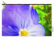 Abstract Violets Carry-all Pouch
