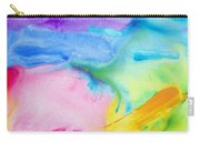 Abstract Vivid Carry-all Pouch