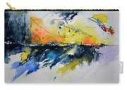 Abstract Watercolor 7007555 Carry-all Pouch
