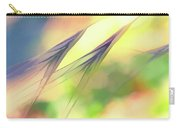 Abstract Weeds Yellow Carry-all Pouch