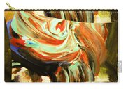 Abstract Whirls Within A Window Carry-all Pouch