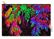 Abstract Wisteria Carry-all Pouch