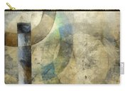 Abstract With Circles Carry-all Pouch