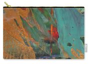 Abstract With Gold - Close Up 7 Carry-all Pouch