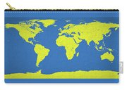Abstract World Map 0317 Carry-all Pouch