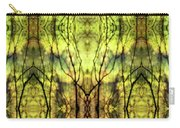Abstract Yellow Trees Carry-all Pouch
