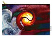 Abstract Yin Yang Lava Carry-all Pouch