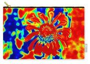 Abstract Zinnia Carry-all Pouch