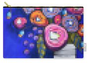 Abstracted Flowers - 2 Carry-all Pouch