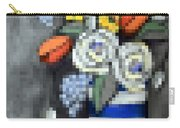 Abstracted Flowers - 3 Carry-all Pouch
