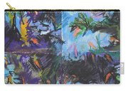 Abstracted Koi Pond Carry-all Pouch
