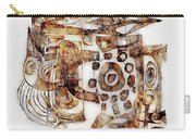 Abstraction 3052 Carry-all Pouch