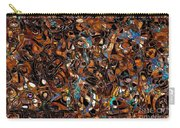 Abstraction 3374 Carry-all Pouch