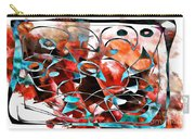 Abstraction 3422 Carry-all Pouch