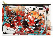 Abstraction 3423 Carry-all Pouch