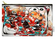 Abstraction 3424 Carry-all Pouch