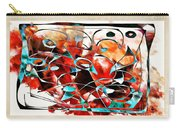 Abstraction 3426 Carry-all Pouch
