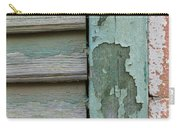 Abstraction In Peeling Paint Close-up Carry-all Pouch