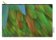 Abstractions From Nature - Pigeon Feathers Carry-all Pouch