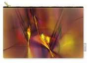 Abstracts Gold And Red 060512 Carry-all Pouch
