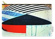 Abstracts On Red Carry-all Pouch
