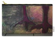 Abstracty Crows Feet Carry-all Pouch