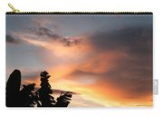 Abuja Sunset Carry-all Pouch
