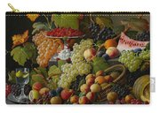 Abundant Fruit Carry-all Pouch by Severin Roesen
