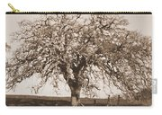 Acacia Tree In Sepia Carry-all Pouch