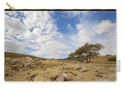 Acacia Tree In The Desert Carry-all Pouch