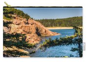 Acadia National Park Rocky Shoreline Carry-all Pouch