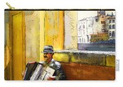 Accordeonist In Florence In Italy Carry-all Pouch