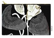 Accordion Leaf Flowers Carry-all Pouch