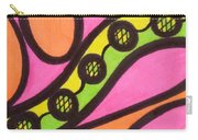 Aceo Abstract Design Carry-all Pouch
