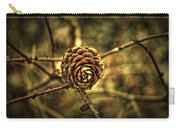 Single Tree Cone At Dusk Carry-all Pouch
