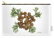 Acorns With Cedar Carry-all Pouch